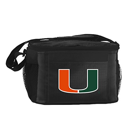 NCAA Miami Hurricanes Insulated Lunch Cooler Bag with Zipper Closure, - The Florida Hours Mall