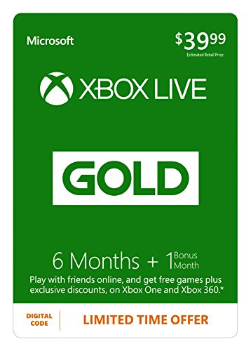 Xbox Live 7 Month Gold Membership - Digital Code