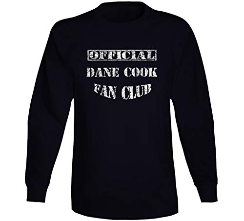 Dane Cook Fan Club Comedian Comedy Worn Look Cool Fan Long Sleeve T Shirt M ()