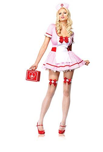 Adult-Costume Nurse Kandi Costume Md Halloween Costume - Adult Medium