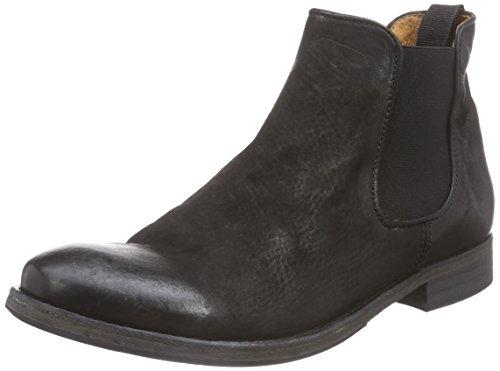 Mentor Dame Chelsea Støvler Sort (sort Læder) EDAgm2Y