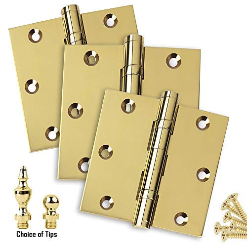 (3 PK - Door Hinges 3.5