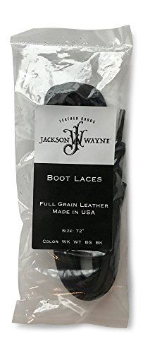 Full Grain Leather Boot Laces 72