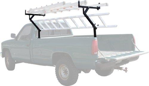 Side-Mount Pickup Truck Rack for 3 Ladders & Kayaks