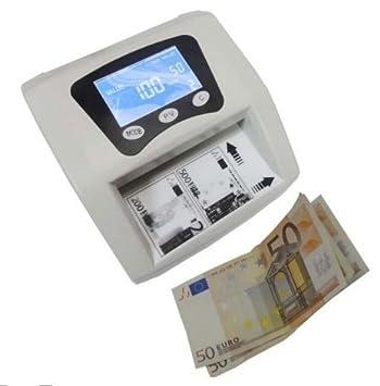 Detector de billetes falsos, contador de billetes 2 en 1 VALIDOS NUEVOS BILLETES: Amazon.es: Oficina y papelería