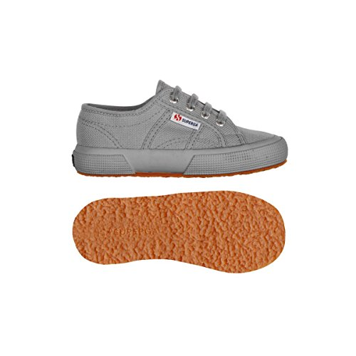 Superga 2750 Jcot Classic, Zapatillas Infantil Full Grey Sage