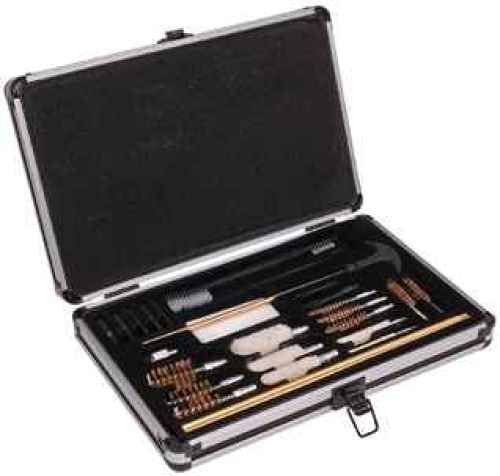 Outers 28 - Piece Aluminum Gun Care Case (Black)