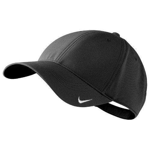 Nike - Gorra / Visera lisa - Verano/Deporte (Talla Única/Negro)
