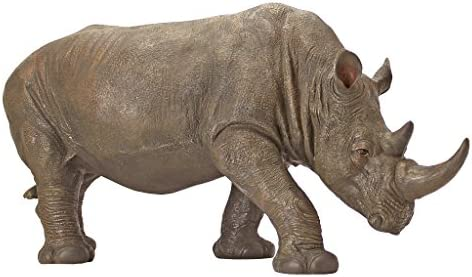 Design Toscano KY71133 South African Rhino Outdoor Garden Statue