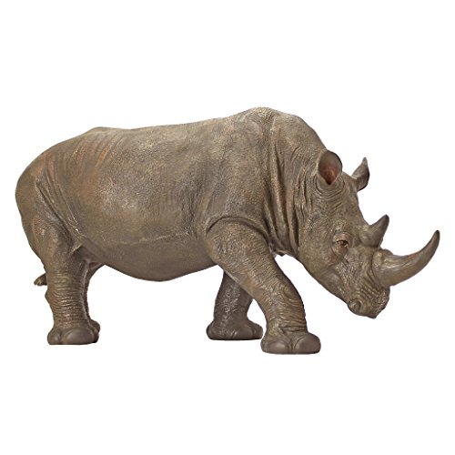 Design Toscano South African Rhino Garden Statue