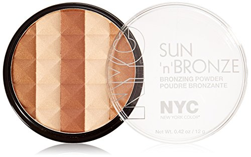 N.Y.C. New York Color Sun N' Bronze Bronzing Powder, Coney Island Glow, 0.42 Ounce