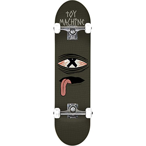 Toy Machine Sect Eye (Toy Machine Skateboards Sect Eye Crossed Out Complete Skateboard - 8
