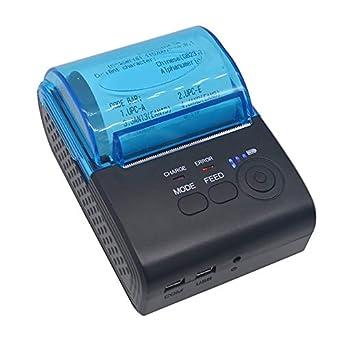 Impresora térmica de recibos portátil de 50 mm Máquina de ...