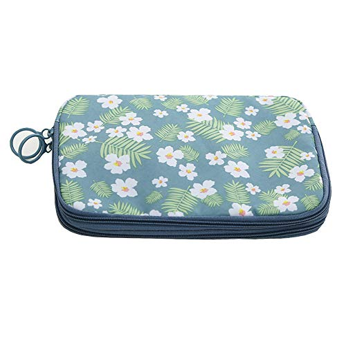 Price comparison product image Double-layer multi-function portable business electronic shockproof digital travel bag data cable storage bag travel passport wallet