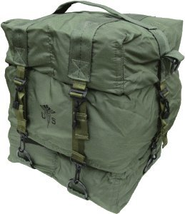 Authentic u.s.g.i. m17 Military Issue医療バッグバッグのみナイロンOlive Drab   B00K0UBJMS