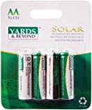 nickle cadmium battery - 4PK Solar AA Battery