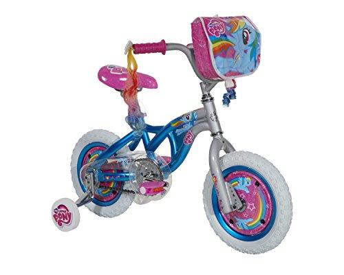 My Little Pony Girls Bike, Blue/Silver/Pink, 12