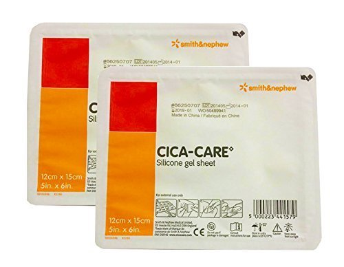 CICA-CARE Gel Sheet by Smith and Nephew 5x6, 2 pks by Cica-Care