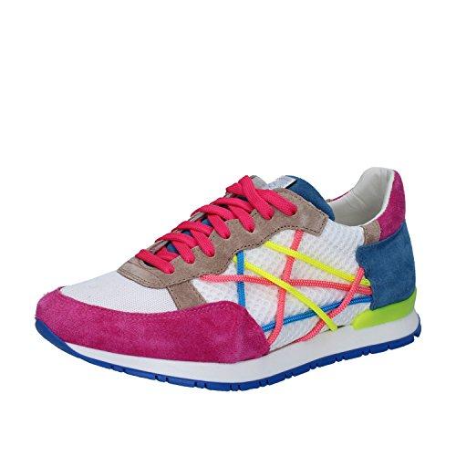 L4K3 , Damen Sneaker Fucsia / Bianco