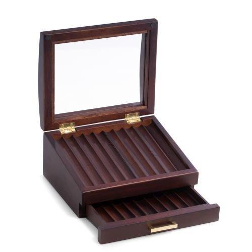 Walnut Wood Pen Box by Bey-Berk