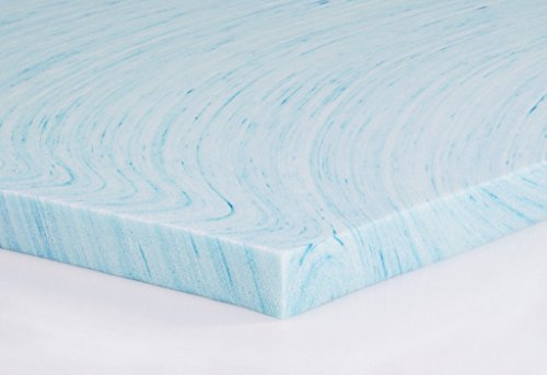 Buy queen gel memory foam topper