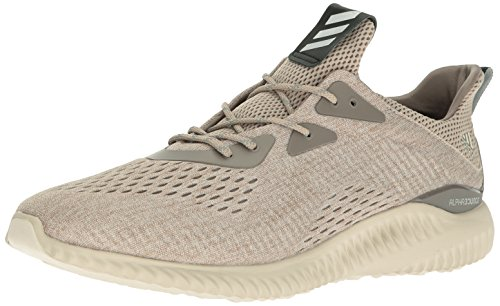 adidas Alphabounce EM Shoe Men's Running 18 Tech Earth-Clear Brown-Crystal White Variation