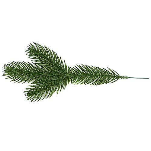 Liveday 10/30/50 PCS Artificial Pine Branches Christmas Tree X'Mas Ornaments Home Decors DIY Accessories for Garland Wreath Christmas Embellishing and Home Garden Decor from Liveday