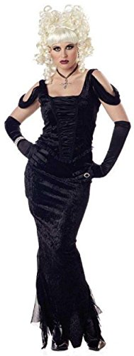 French Madame Sexy Costumes (Madame Gothic Sexy Ladies Adult Costume Size Medium 8-10)