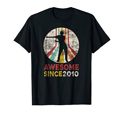 Vintage Flossing 9th Birthday Awesome Since 2010 T-shirt ()