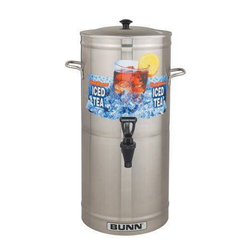 Bunn 33000.0000 3 Gal Model TDS-3 Cylinder Style Tea/Coffee Dispenser