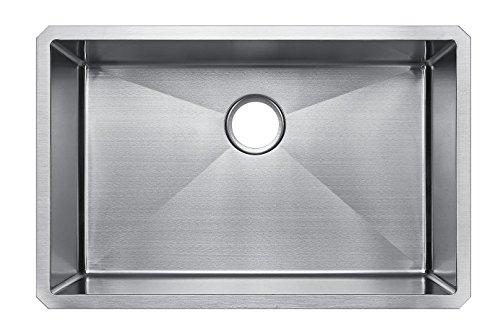 StarStar 32 X 21 Single Bowl Undermount 304 Stainless Steel Kitchen - Bowl One Undermount