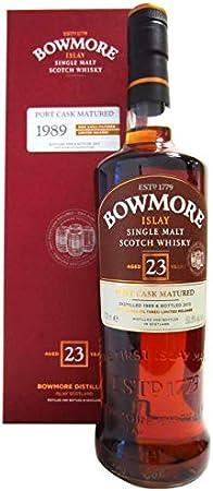 Bowmore 23 Años - 1989 Port Cask Matured Single Malt Whisky Escoces, 48%, 700 ml