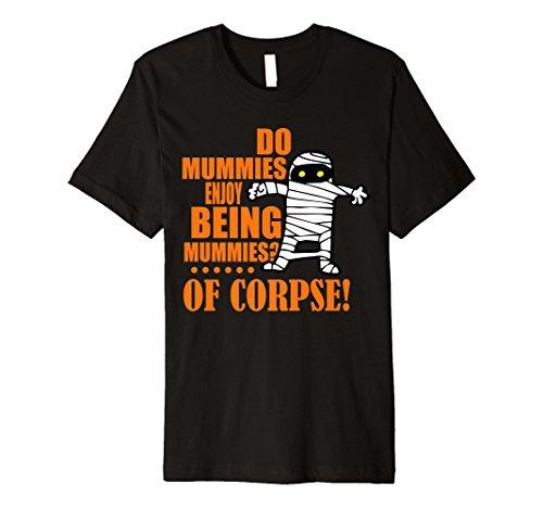 Halloween Teacher Shirt - Egypt Mummy Wordplay Pun -