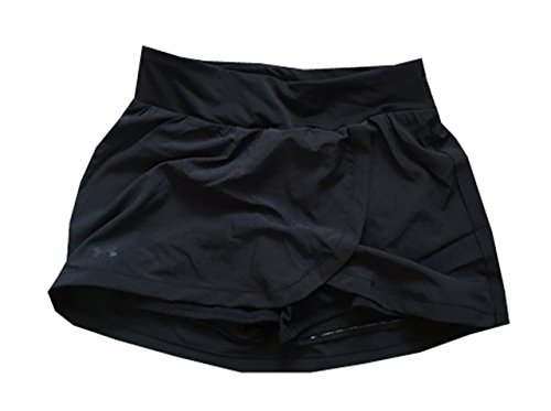 Under Armour Tennis Skirt - Under Armour Women Running Mileage Skort (M, Black)