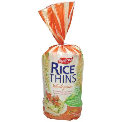 Real Foods Rice Thin Whl Grn