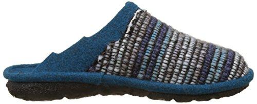 Mikado Bleu blau Femme Mules Romika 96 multi Chaussons OxwZ8xvAq