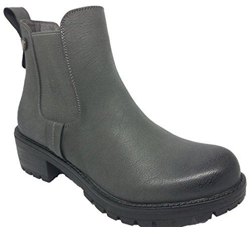 Damenschuhe | Stiefeletten | Boots | Herbststiefel | Absatzschuhe | Grau Grau