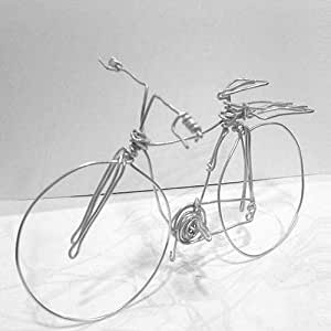 دراجة ديكورية مصنعة يدويا
