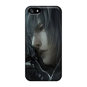 Special E-Lineage Skin Case Cover For Iphone 5/5s, Popular Noctis Final Fantasy Phone Case