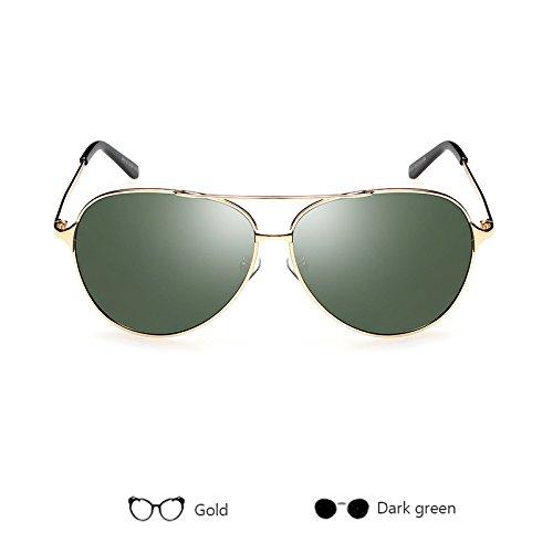 ZHANGYUSEN de sol polarizadas Gafas de D gafas de Gafas Unisex de de sol UV400 aleación Mujeres E hombres piloto conducción Hombres 08r0Aqtx