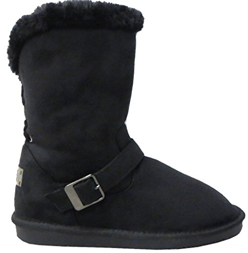 Black Un Bottines Bailey Style Top Bouton Rtb Plat Pour Bottes Slope Boxed Snugg ZOxzxqdnR