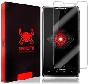 Motorola Droid Razr Maxx Screen Protector, Skinomi® TechSkin Full Coverage Screen Protector for Motorola Droid Razr Maxx Clear HD Anti-Bubble Film - with Lifetime Warranty
