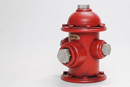 Tin toys retro antique ornaments piggy bank fire hydrant Fire hydrant - Hydrant Fire Piggy Bank