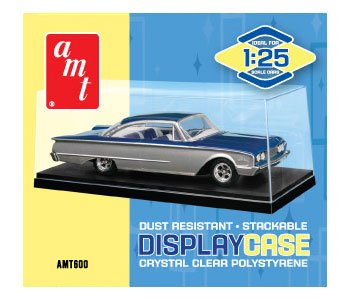 Collectible display show case for 1/25 scale model cars by Autoworld AMT600 - Collectable Box