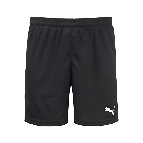 1 Replica Customized Jersey - PUMA Men's Pitch Shorts without Inner Brief, Black/White, Small