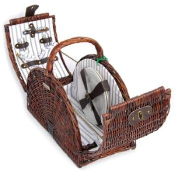 Willow Double Lid Picnic - Double Basket Lid Picnic