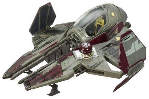 Hasbro Star Wars Starfighter Vehicle E3 Ve02 OBI-Wan Kenobi Starfighter