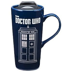Vandor-Doctor-Who-Taza-de-viaje-de-cermica-reactiva-con-diseo-de-ngel