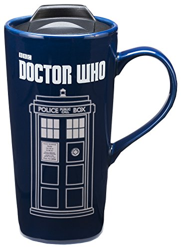Vandor Doctor Who 20 Oz. Heat Reactive Ceramic Travel Mug (16251)