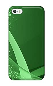 Ben Steele Premium Protective Hard Case For Iphone 5/5s- Nice Design - Abstract Green